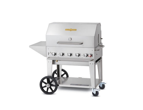 Crown Verity MCB36 (With Lid) - BBQing.com