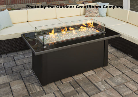 Outdoor GreatRoom Monte Carlo Fire Pit Table - BBQing.com