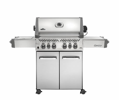 NAPOLEON PRESTIGE 500 WITH INFRARED SIDE AND REAR BURNERS - BBQing.com - 1