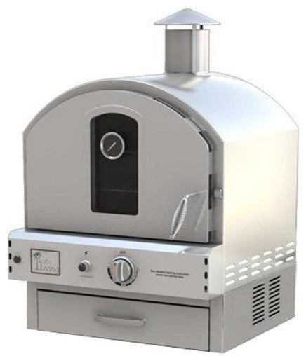Wonderful Pacific Living Pizza Oven Stainless Steel   BBQing.com   1 ...
