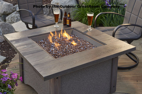 Outdoor GreatRoom Crushed Glass Fire Gems  5LBS - Copper - BBQing.com