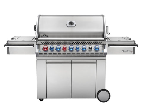NAPOLEON PRESTIGE PRO 665 WITH INFRARED REAR AND SIDE BURNERS - BBQing.com - 2