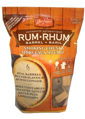 MacLean's Rum Barrel Smoking Chunks - BBQing.com