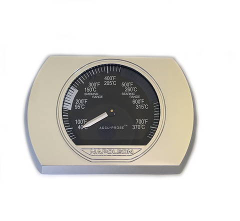 NAPOLEON CHROME TEMPERATURE GAUGE PRESTIGE PRO SERIES