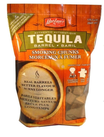 MacLean's Tequila Barrel Smoking Chunks - BBQing.com