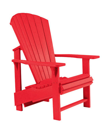 UPRIGHT ADIRONDACK CHAIR - BBQing.com - 1