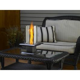 TOG Fire pit Swirl Flame Gel tabletop - Silver Vein - BBQing.com - 1