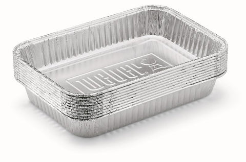 Weber Replacement Foil Pans - BBQing.com