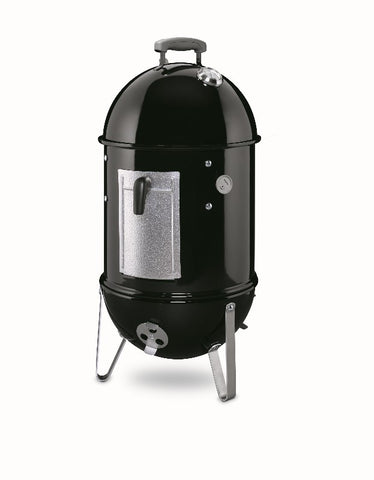 Weber Smokey Mountain Cooker Smoker - BBQing.com - 1