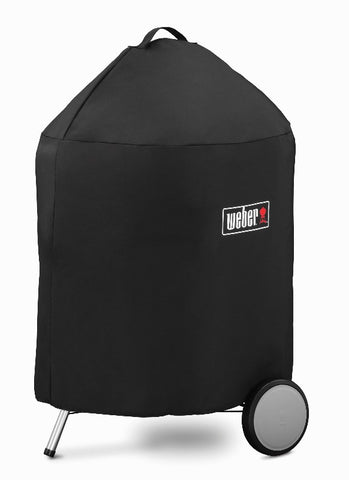 "WEBER 22"" CHARCOAL GRILL COVER WITH STORAGE BAG - BBQing.com"