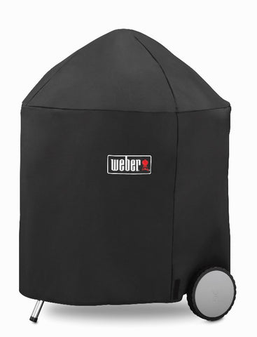 "WEBER 26"" CHARCOAL GRILL COVER WITH STORAGE BAG - BBQing.com"