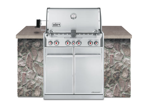 Weber Summit S-460 BUILT-IN - BBQing.com