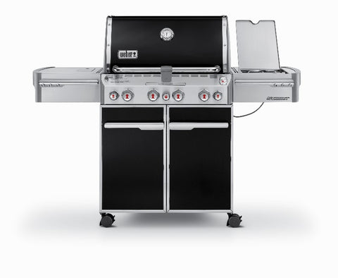 Weber Summit E-470 BLACK - BBQing.com