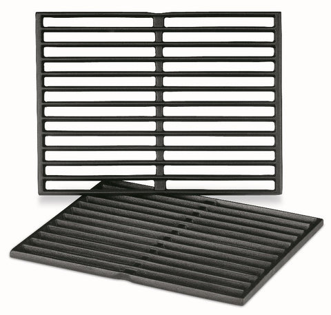 Weber Porcelain- Enameled Cast- Iron Cooking Grates - BBQing.com - 1