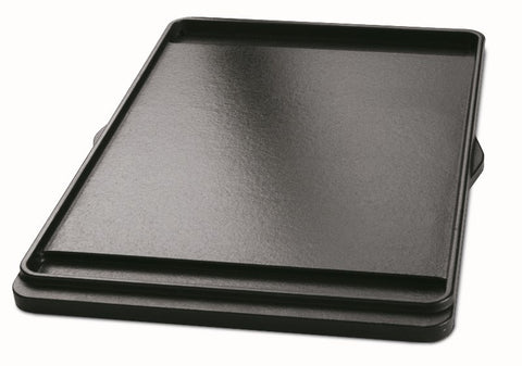 WEBER  PORCELAIN- ENAMELED CAST-IRON GRIDDLE, SPIRIT 300 SERIES - BBQing.com - 1