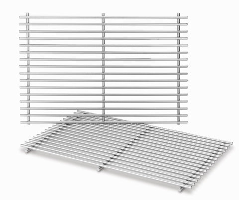 Weber Stainless Steel Cooking Grates - BBQing.com - 1