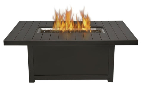 ST. TROPEZ RECTANGULAR PATIOFLAME TABLE - BBQing.com - 1