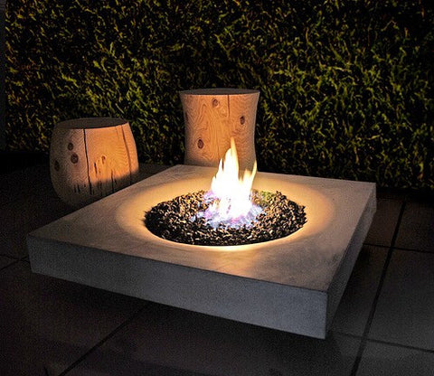 "Solus Fire Pit 36"" Halo Elevated (Display Model Only)"