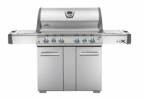 Napoleon LEX 605 WITH SIDE BURNER AND INFRARED BOTTOM & REAR BURNERS - BBQing.com - 1
