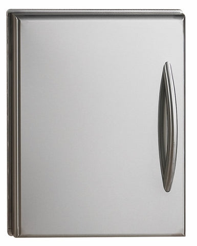 NAPOLEON FLAT STAINLESS STEEL BUILT-IN DOOR - BBQing.com