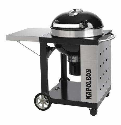 Napoleon Charcoal Kettle Grill - BBQing.com - 1