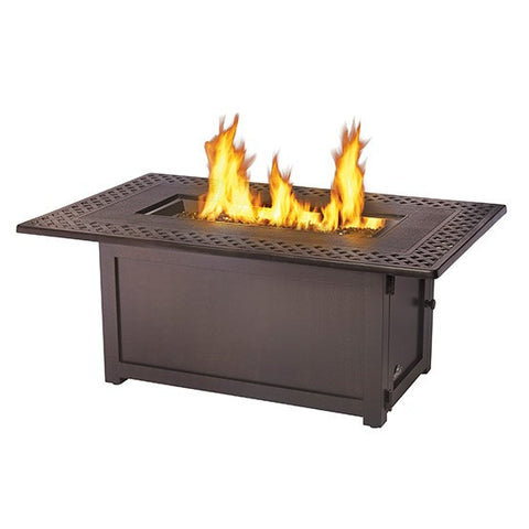 KENSINGTON RECTANGULAR PATIOFLAME TABLE - BBQing.com