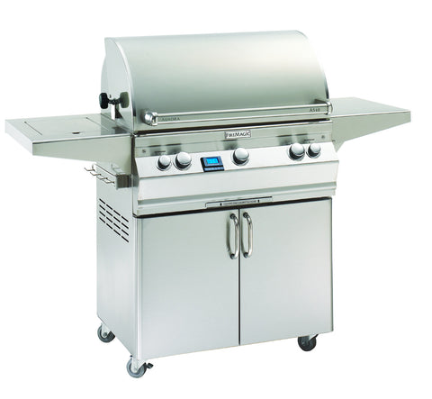 Fire Magic AURORA A540s Freestanding Gas Grill With One Infrared Burner, Digital Thermometer, Rotisserie - BBQing.com