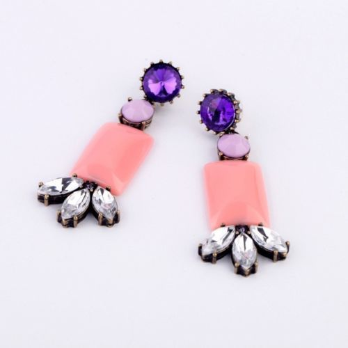 E15 Keira Long Dangle Statement Earrings with Gift Pouch