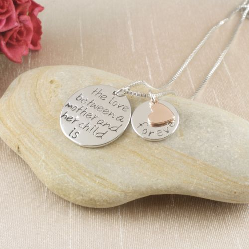 N6 'The Love Between a Mother and her Child' Pendant Necklace