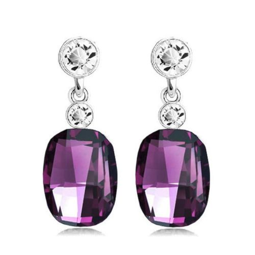 E2 Amanda Vintage Glamour Style Dangle Stud Earrings with Gift Box
