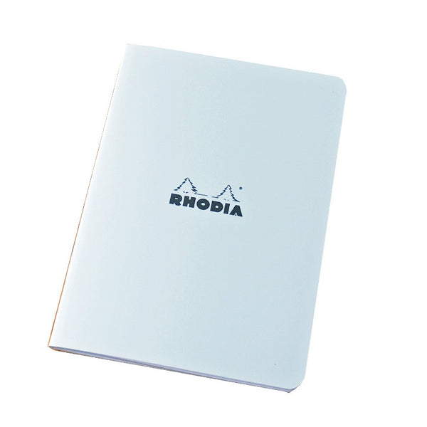 A5 Notebook - Rhodia Classic Side Stapled Cahier (Lined)