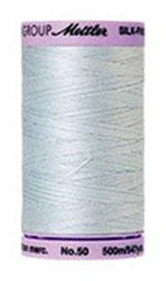 Mettler Cotton Sewing Thread - 50wt - 547 yd/ 500M - 0039 Starlight Blue