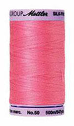 Mettler Cotton Sewing Thread - 50wt - 547 yd/ 500M - 0067 Bright Rose Pink