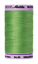 Mettler Cotton Sewing Thread - 50wt - 547 yd/ 500M - 0092 Bright Mint Green