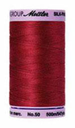 Mettler Cotton Sewing Thread - 50wt - 547 yd/ 500M - 0105 Fire Engine Red