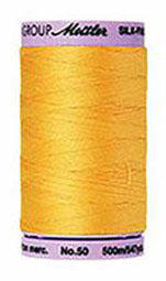 Mettler Cotton Sewing Thread - 50wt - 547 yd/ 500M - 0120 Summer Sun