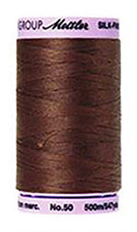 Mettler Cotton Sewing Thread - 50wt - 547 yd/ 500M - 0173 Friar Brown