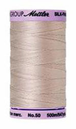 Mettler Cotton Sewing Thread - 50wt - 547 yd/ 500M - 0319 Cloud Gray
