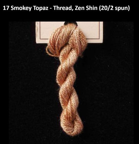 TREENWAY SILKS - Zen Shin (20/2) Silk Thread - # 0017 Smokey Topaz