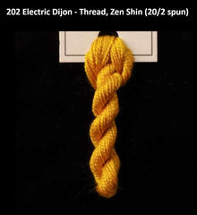 TREENWAY SILKS - Zen Shin (20/2) Silk Thread - 0202 Electric Dijon