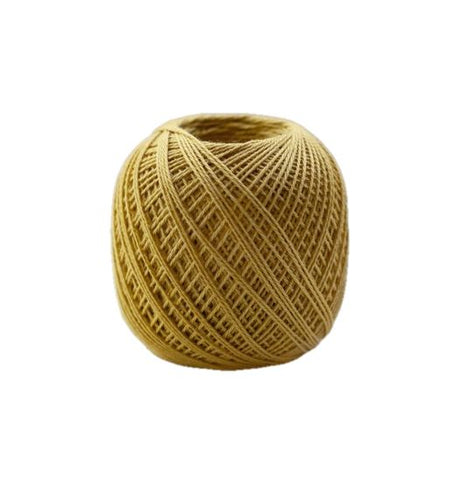 Sashiko Thread - Olympus 88m - Solid Color -Thin Weight  - # 205 Gold