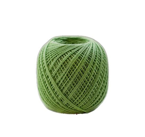 Sashiko Thread - Olympus 88m - Solid Color -Thin Weight  - # 206 Lime