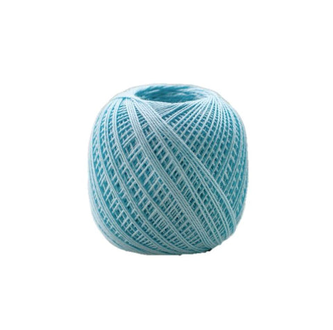 Sashiko Thread - Olympus 88m - Solid Color -Thin Weight  - # 208 Aqua