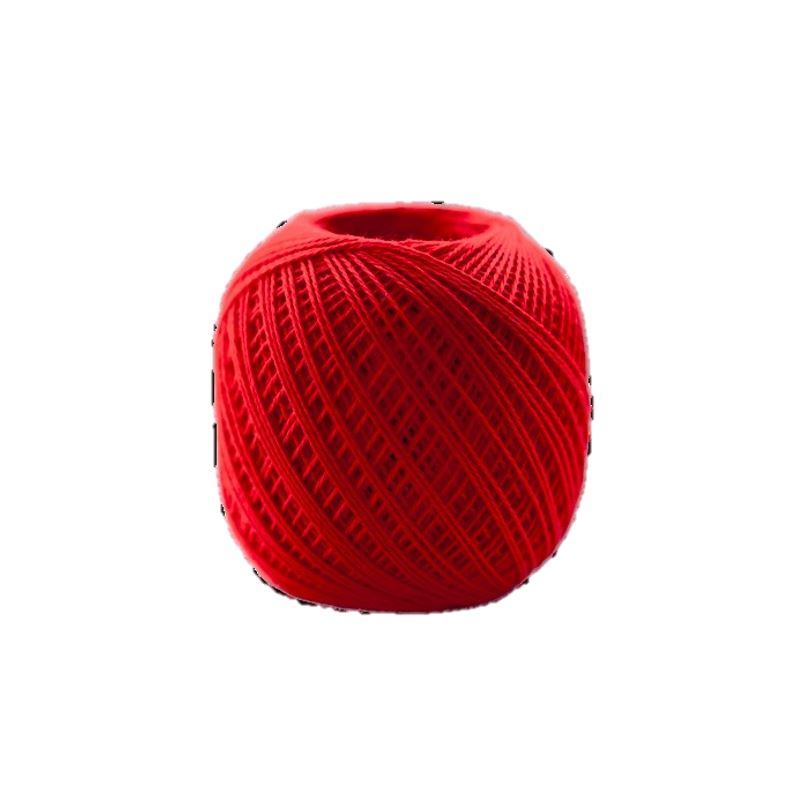 Sashiko Thread - Olympus 88m - Solid Color -Thin Weight  - # 215 Scarlet