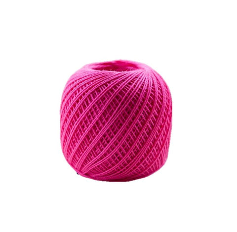 Sashiko Thread - Olympus 88m - Solid Color -Thin Weight  - # 221 Hot Pink