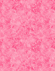 Blender - Tonal Feathery Filigree - Bright Pink  # 303