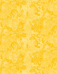 Blender - Tonal Feathery Filigree - Golden Yellow # 555