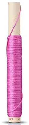 Silk Embroidery Floss - # 607 - Medium Rose