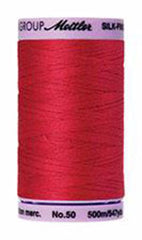 Mettler Cotton Sewing Thread - 50wt - 547 yd/ 500M - 0102 Poinsettia