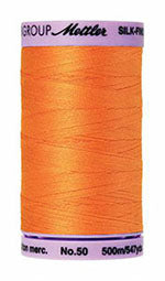 Mettler Cotton Sewing Thread - 50wt - 547 yd/ 500M - 0122 Pumpkin